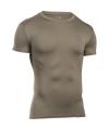 Under Armour HeatGear Tee Men's Compression Shirt in Federal Tan - Medium
