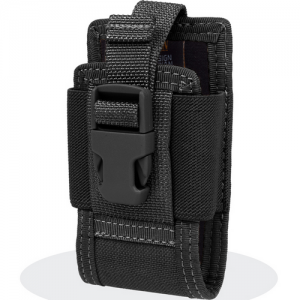 4.5' Clip-On Phone Holster Color: Black