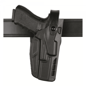 Safariland 7280 Mid Ride Right-Hand Belt Holster for Sig Sauer P320 in STX Plain - 7280-450-411