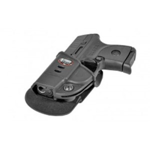Fobus USA Evolution Left-Hand Paddle Holster for Ruger LCP/Kel-Tec P-3At in Black Kydex - KT2GLH