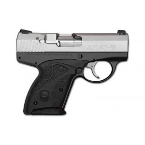 """Boberg Arms Corporation XR45-S Shorty .45 ACP 6+1 3.35"""" Pistol in Black Frame/Stainless Slide - 1XR45SSTD1"""