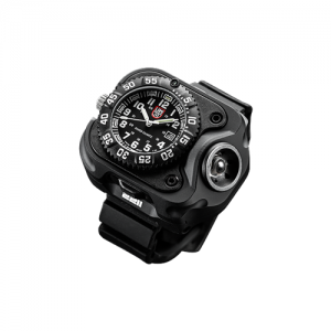 Compact Wristlight With Luminox Watch, Recharge Li-Ion, 15/60/300 Lu, Black