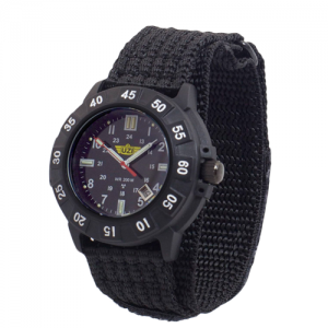 Protector Watch - Tritium, Black Face, Nylon Strap