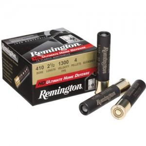 "Remington Heavy Density Ultimate Home Defense .410 Gauge (3"") 000 Buck Shot Lead (15-Rounds) - 413B000HD"