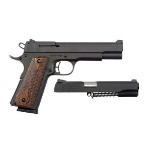 """Rock Island Armory 1911-A1 XT22 .22 Long Rifle/.45 ACP 10+1 5"""" 1911 in Fully Parkerized Frame & Slide - 51937"""