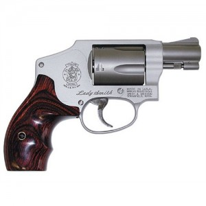 "Smith & Wesson 642 .38 Special 5-Shot 1.87"" Revolver in Stainless (Airweight) - 163808"