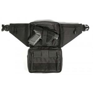 Blackhawk Concealed Weapon Fanny Pack in Black Nylon Canvas - 60WF05BK