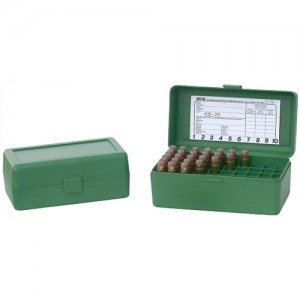 MTM R-50 50 Round WSM/4570 Rifle Ammunition Storage Case RMLD5024