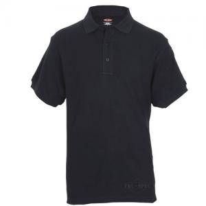 Tru Spec 24-7 Classic Men's Short Sleeve Polo in Black - X-Large