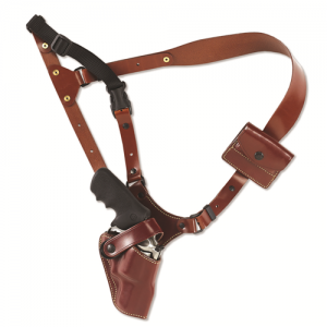 "Galco International Great Alaskan Right-Hand Shoulder Holster for Colt King Cobra, Python, Trooper in Tan (4"") - GA194"