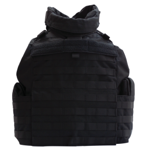 TacProGear Tactical Vest in Nylon Black - Medium