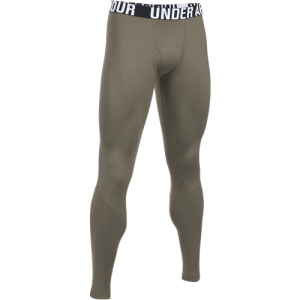 Under Armour Coldgear Infrared Men's Compression Pants in Federal Tan - Large