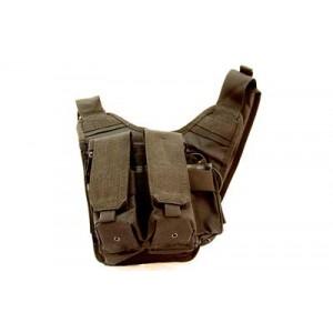 "Us Peacekeeper Rdp Rapid Deployment Pack Bag, 12""x10""x3"", Black P20307"