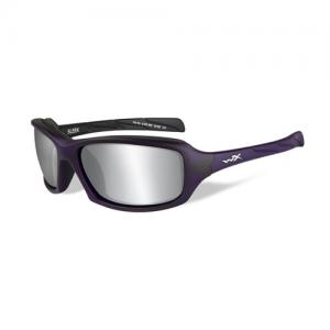 Wiley X - Sleek Lens Color: Silver Flash / Matte Violet