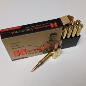 Hornady Superformance Match .338 Lapua Magnum Boat Tail Hollow Point Match, 285 Grain (20 Rounds) - 82306