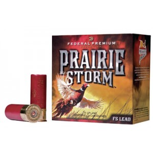 """Federal Cartridge Prairie Storm Small Game .12 Gauge (3"""") 4 Shot Lead (250-Rounds) - PF129FS4"""