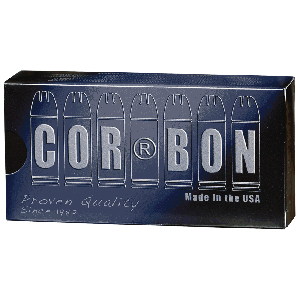 Corbon Ammunition .40 S&W Jacketed Hollow Point, 165 Grain (20 Rounds) - SD40165