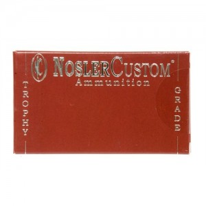 Nosler Bullets Custom Trophy Grade .30-06 Springfield Partition, 150 Grain (20 Rounds) - 60055