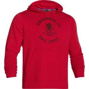 Under Armour Property Of Men's Pullover Hoodie in Red - Large
