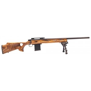 """HOWA/Legacy Varminter Deluxe .243 Winchester 10-Round 24"""" Bolt Action Rifle in Black - HVR98101+BRM"""