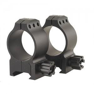 Warne 30MM Medium Tactical Rings w/Matte Black Finish 614M