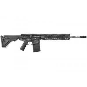 """Black Rain Ordinance Silver Skulls .308 Winchester/7.62 NATO 20-Round 18"""" Semi-Automatic Rifle in Silver Skulls Print/Ceramic Clear Coat - BRO-PG13"""
