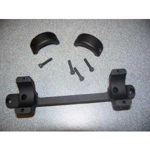 """DNZ Products Howa 1500 1"""" Low Matte Black Long Action Base/Rings 20300"""