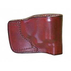 Don Hume Jit Slide Holster, Fits Colt Mustang, Right Hand, Brown Leather J986500r - J986500R