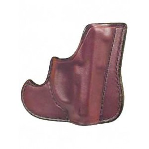 Don Hume 001 Front Pocket Holster, Fits Taurus 85, S&w J Frame, Ambidextrous, Brown Leather J100100r - J100100R