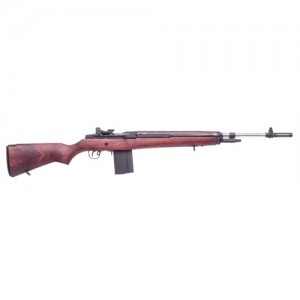 "Springfield M1A National Match .308 Winchester 10-Round 22"" Semi-Automatic Rifle in Stainless Steel - NA9802CA"