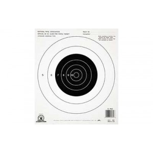 Champion Traps & Targets Nra B16 Target, 25 Yard Pistol, Slow Fire, 100 Pack 40722
