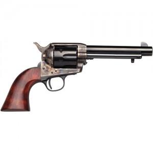 "Taylors & Co 1873 Cattleman .45 Colt 6-Shot 5.5"" Revolver in Case Hardened Blue/Brass Backstrap/Trigger Guard (Ranch Hand) - 451"