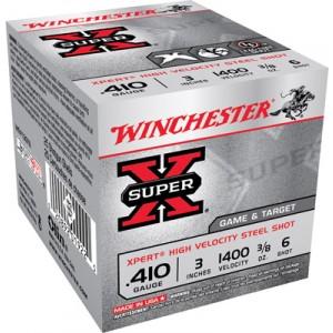 """Winchester Xpert .410 Gauge (3"""") 6 Shot Steel (250-Rounds) - WE413GT6"""