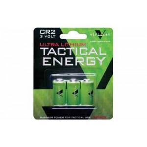 Viridian Green Laser Battery, Cr2 Lithium Battery, 3 Pack, Green Vir-cr2-3