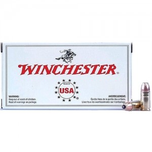 Winchester 9mm Jacketed Hollow Point, 147 Grain (50 Rounds) - USA9JHP2