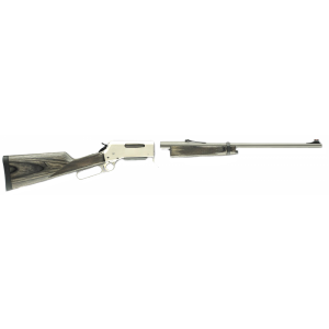 "Browning BLR 81 Take-Down .300 Winchester Magnum 3-Round 24"" Lever Action Rifle in Matte Stainless - 34015129"