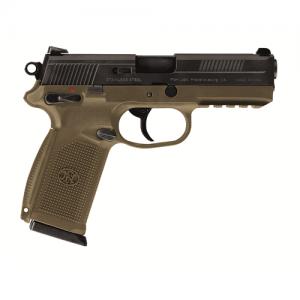 "FN Herstal FNX-45 .45 ACP 15+1 4.5"" Pistol in Flat Dark Earth (Manual Safety) - 66995"