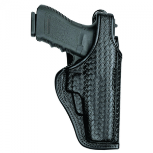 Accumold Elite Defender II Duty Holster Gun FIt: 11D / H&K / P2000, USP Compact .40 Hand: Left Hand Color: Black / Plain - 22019