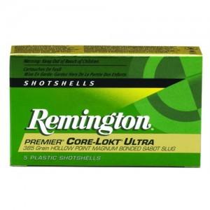 """Remington Premier Core-Lokt Ultra Bonded .12 Gauge (2.75"""") Slug (Copper) Copper (5-Rounds) - PR12CLU"""