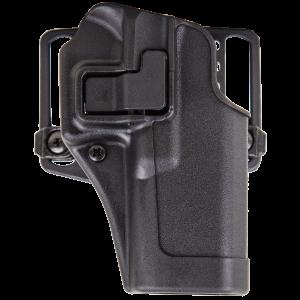 "Blackhawk Serpa CQC Left-Hand Multi Holster for Beretta 92S, 96S in Black (5"") - 410504BKL"