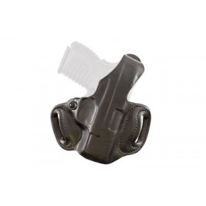 "Desantis Gunhide 85 Thumb Break Mini Slide Right-Hand Belt Holster for Sig Sauer P938 in Black Leather (3"") - 85BA37Z"