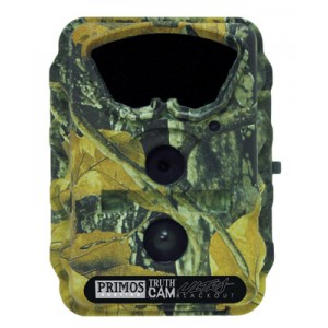 Primos Hunting Ultra Trail Camera Infrared Flash 4 D Cell Power Water-Resistant Camo Finish 63036